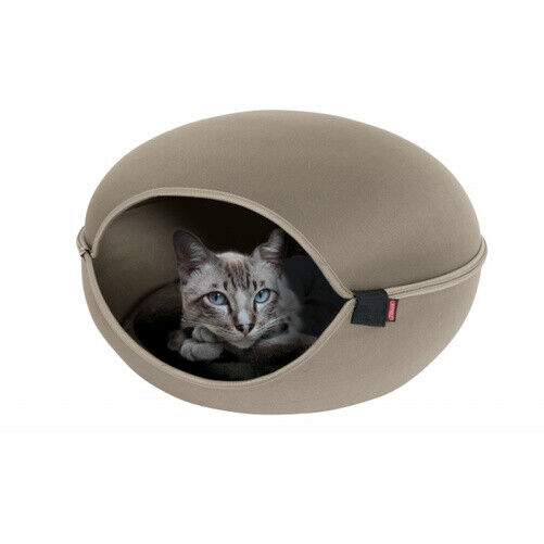 DOME pour CHAT LOUNA coloris TAUPE