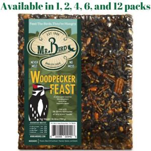 Mr Bird Woodpecker Feast Large Block 1 .lb 12 oz. 1, 2, 4, 6, and 12 Packs