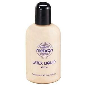 MEHRON-133ML-LIQUID-LATEX-FLESH-MAKEUP-COSTUME-SPECIAL-EFFECTS-PROSTHETICS