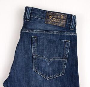 Diesel Hommes Viker Standard Jeans Jambe Droite Taille W33 L26 ASZ309