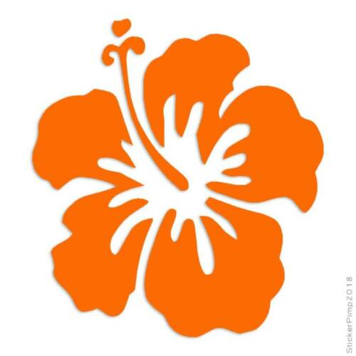 Hibiscus Sorrel Decal Sticker Choose Color Size #367