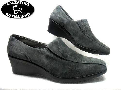 IGI & CO 77986 00 chaussures MOCASSINO ACCOLLATO femmes IN CAMOSCIO gris