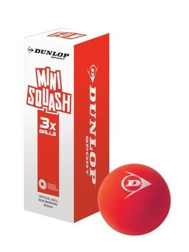 Dunlop Competition Squash Racketballs Pack of 3