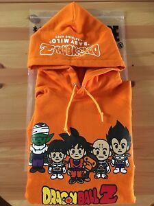 0dd9421b BAPE x DRAGON BALL Z PULLOVER HOODIE Size XS Hooded Sweatshirt A ...