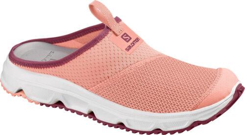 Salomon RX SLIDE 4.0 W Damen Badeschuhe Komfort-Pantoletten rosa NEU
