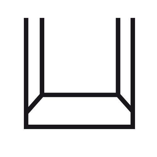 mit dunklem Griff Narex Stechbeitel Set 4-tlg 8 bis 32 Klüpfel