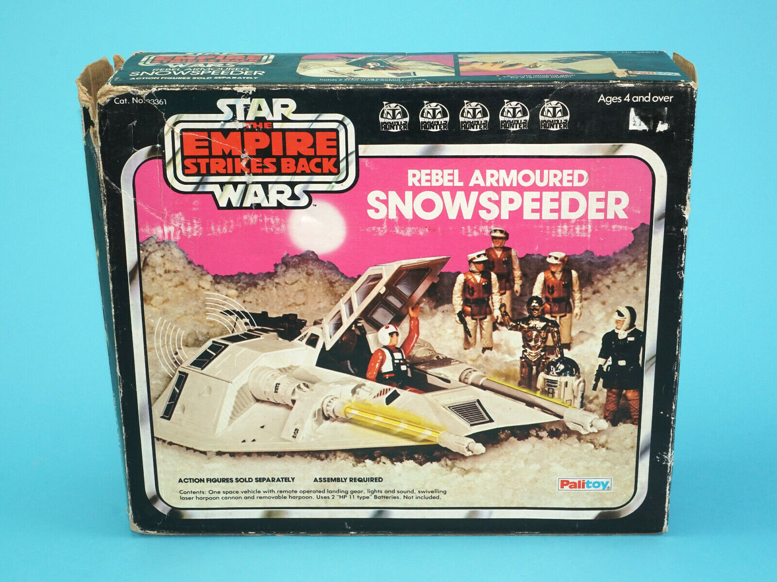 Estrella WARS ESB SNOWSPEEDER IN ORIGINAL BOX 1980 PALITOY KENNER
