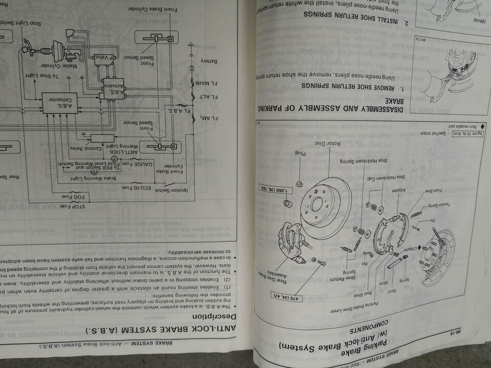 Reparationsbog, Toyota Celica Rep. Supplement hæfte