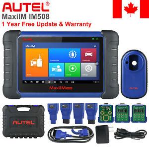 Autel IM508 OBD2 Auto Keys Programming IMMO Scanner Diagnostic Tool All Key Lost