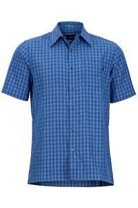 Blue Funzionale Per Lerwick Camicia Manica Corta Varsity Uomini Shirt Marmot zAqxwpq