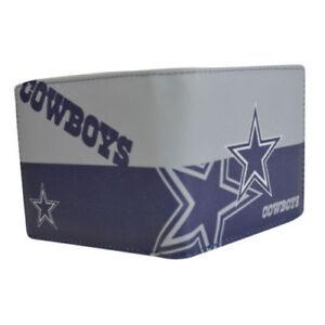 Dallas Cowboys NFL Men s Printed Logo Leather Bi-Fold Wallet ... 4820b5dddec