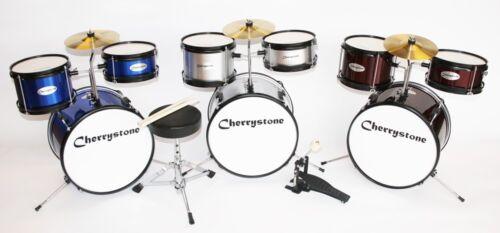 Kinderschlagzeug Junior Drum von Cherrystone in 4 Farben, ab 3 Jahre