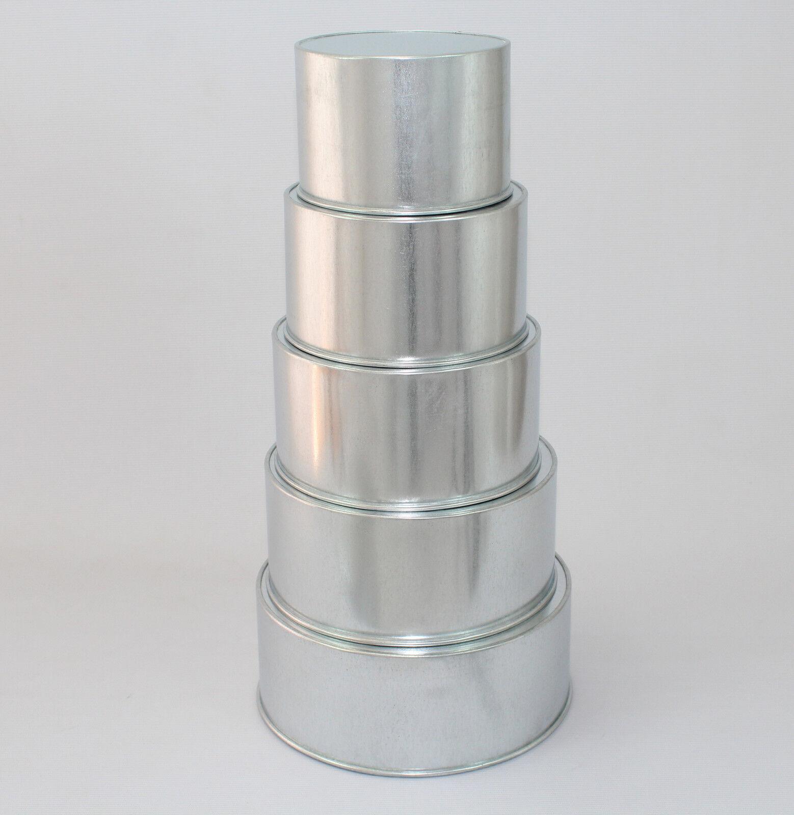 Round Cake Baking Tins - 3  Deep Deep Deep - 5 Tier ( 6 7 8 9 10  ) ac3261