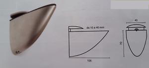 Reggimensola Tucano Per Legno.Dettagli Su Reggimensola Reggi Mensola Cromo Luc Sat Vetro Legno Tucano Morsetto Beccogrande