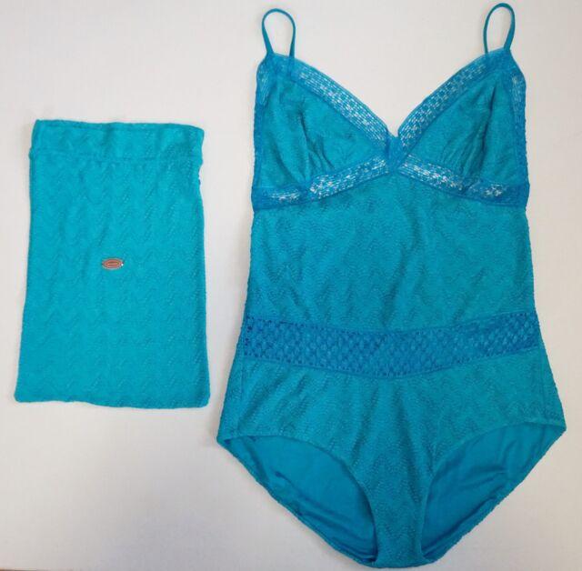 646358ff805 NWT Authentic MISSONI MARE Knit One-Piece Swimsuit Bathing Suit EU-50 US-