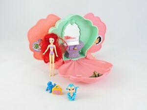 Disney-THE-LITTLE-MERMAID-mini-Playset-Polly-Pocket-scale-Bootleg-KO-Knock-off