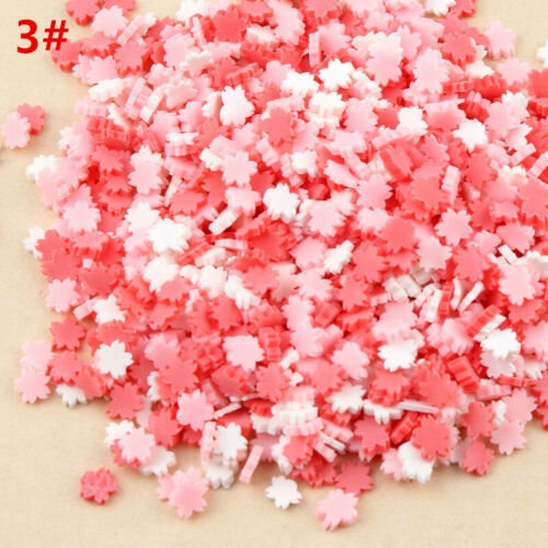 100g DIY Polymer Clay Fake Candy Sugar Sprinkle For Phone Case Decorations Hot