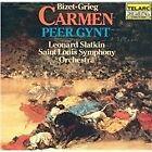 Bizet: Carmen Suite; Grieg: Peer Gynt Suite (1984)