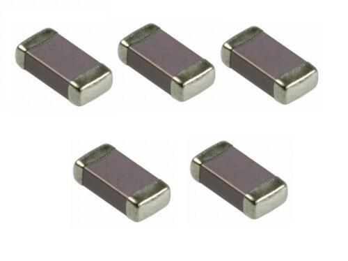 1206-5 Pezzi//pcs Ceramic monolithic capacitor 22pF 50V 5/% COG NP0 SMD case