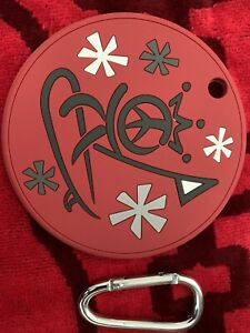 Scotty Cameron King Peace Surf Golf Disc Gallery Exclusive Bag Tag Red