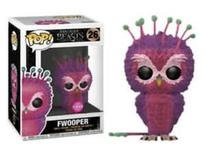 Fantastic Beasts Movie Funko POP Limited edition Fwooper Flocked #26 !!