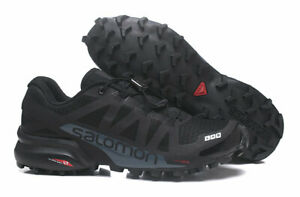 Top-New-Men-039-s-Salomon-Speedcross-5-Athletic-Running-Sports-Outdoor-Hiking-Shoes