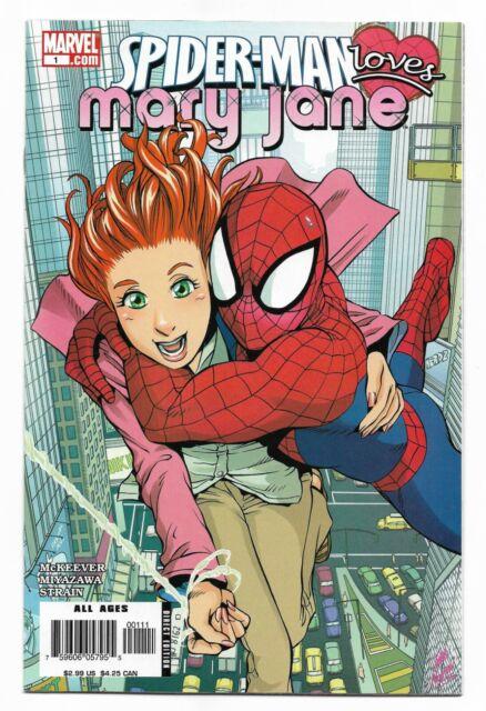 SPIDER-MAN LOVES MARY JANE #1 (VF/NM) (Marvel 2006) 1st Print McKeever Miyazawa