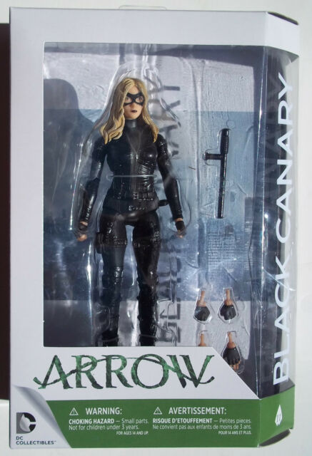 DC Collectibles CW TV BLACK CANARY Season 3 7in Action Figure =FREE SHiP=