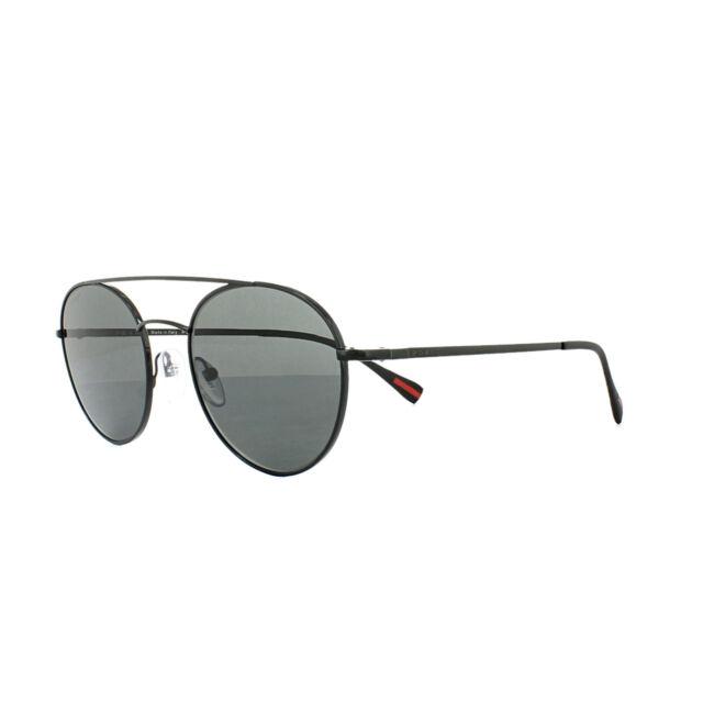 Prada Sport Sunglasses 51SS 7AX5S0 Black Grey