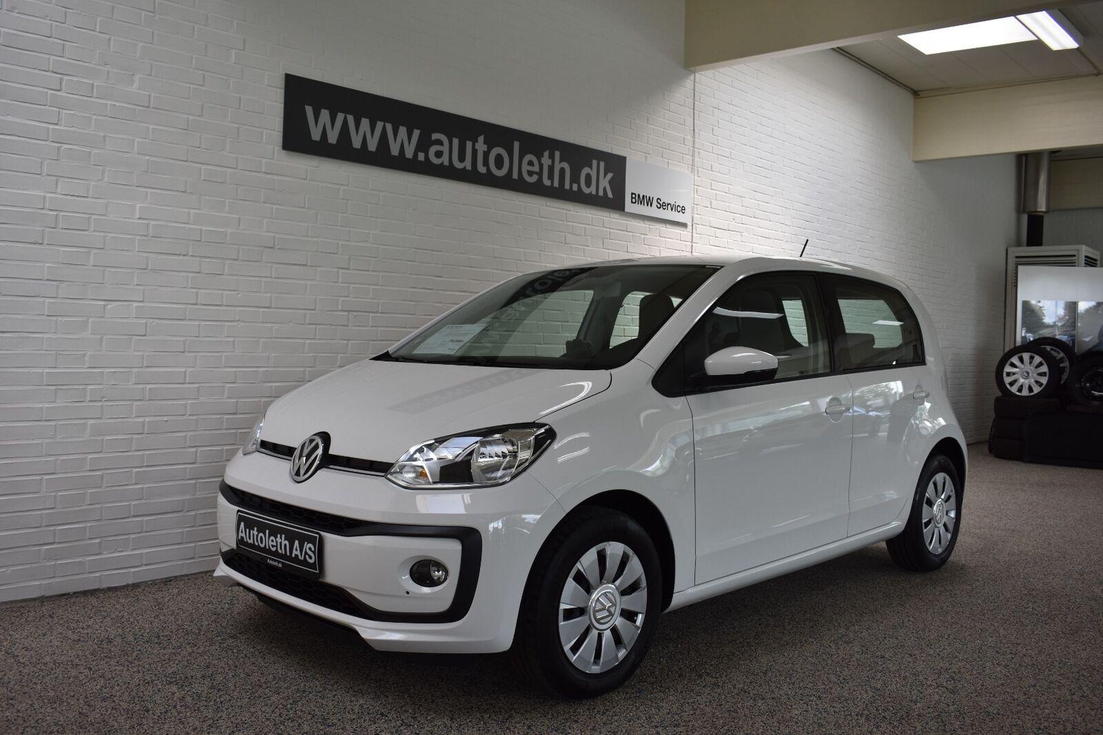 VW Up! 1,0 MPi 60 White Up! BMT 5d - 74.900 kr.