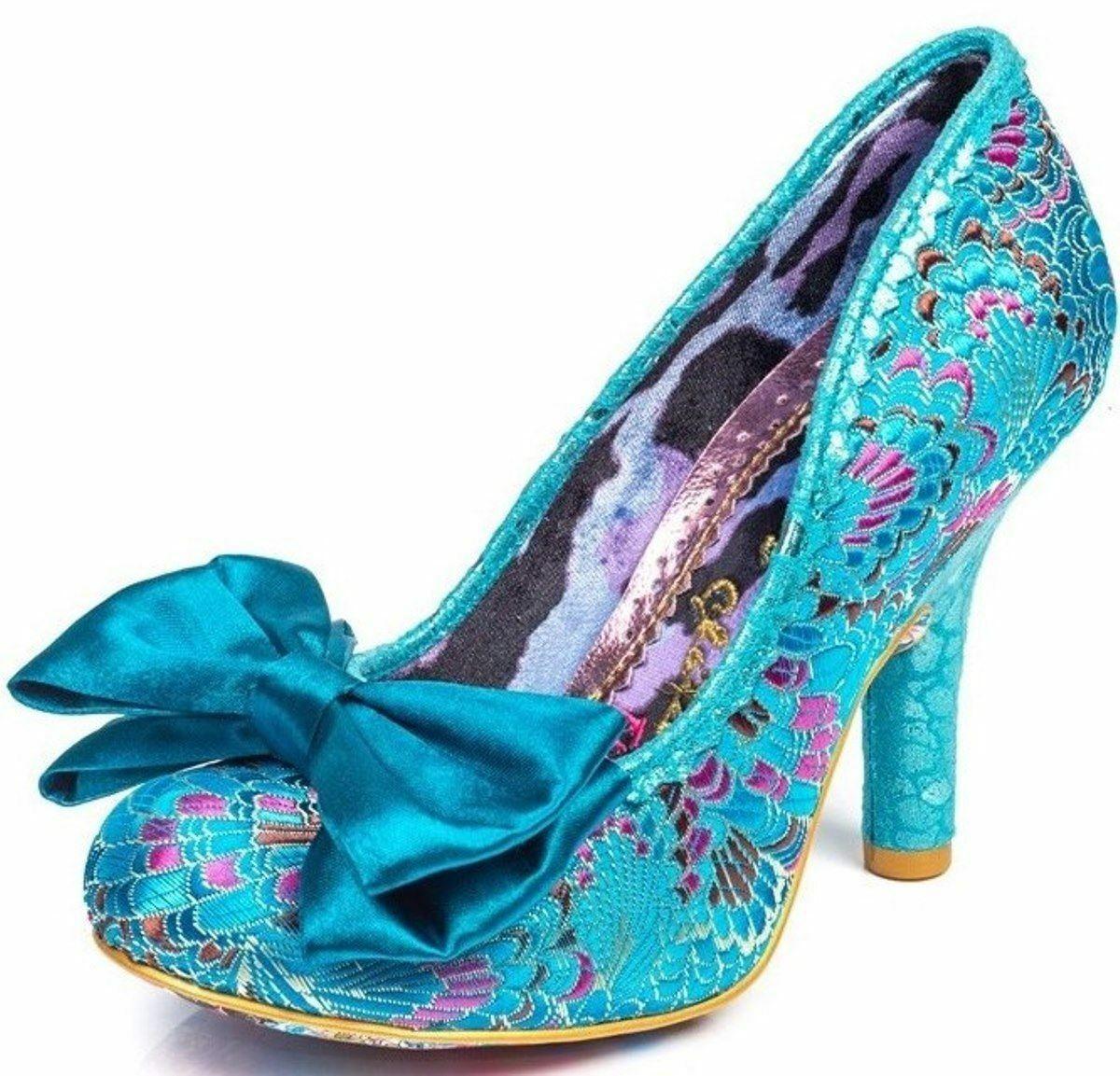 Irregular Choice Princess Promise Green Womens Hi Heels