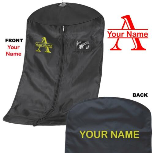 Personalised Printed Split Letter Suit carrier//Costume garment Bag named 1