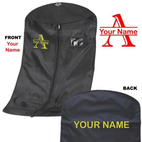 Personalised Printed Split Letter Suit carrier//Costume garment Bag named 1