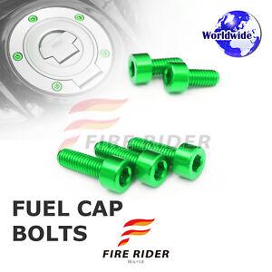 FRW-Green-Fuel-Cap-Bolts-Set-For-Kawasaki-ZZR1200-02-05-02-03-04-05