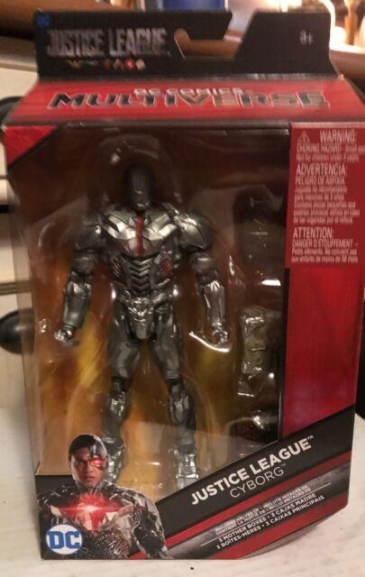 "CYBORG New - DC Comics Multiverse Justice League Motherboxes 6"" Action Figure"