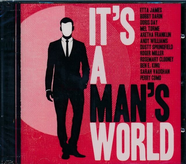 It's A Man's World 2-disc CD NEW Etta James Bobby Darin Perry Como