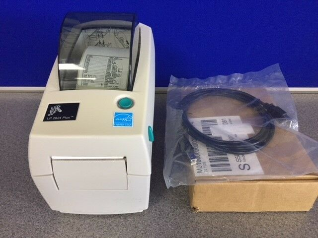 Zebra LP2824 Plus Direct Thermal Label Printer - 282P-201120-000 USB & Serial