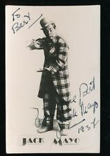 Theatre Stage Jack Mayo 1937 personally signed photograph