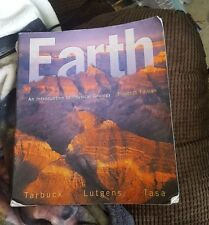 Earth An Introduction to Physical Geology Tarbuck 11th US Ed 2013 softcover