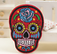 Sugar-Candy-Skull-Iron-On-Patch-Badge-Day-of-the-Dead-Transfer-Jacket-Hat-Bag thumbnail 6