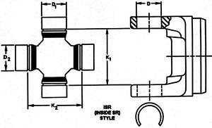 Spicer 5-811X U-Joint Kit