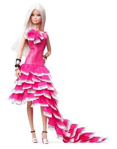 Pink In Pantone 2011 Barbie Doll For Sale Online Ebay