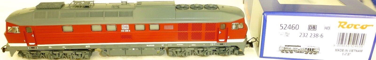 232 238-6 Diesellok DB EpV PluX16 Roco 52460 H0 1 87 OVP NEU KB4 µ