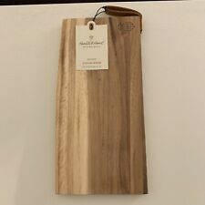 NEW Hearth /& Hand with Magnolia ** Acacia Wood 12 x 6  Serving Board **  NWT