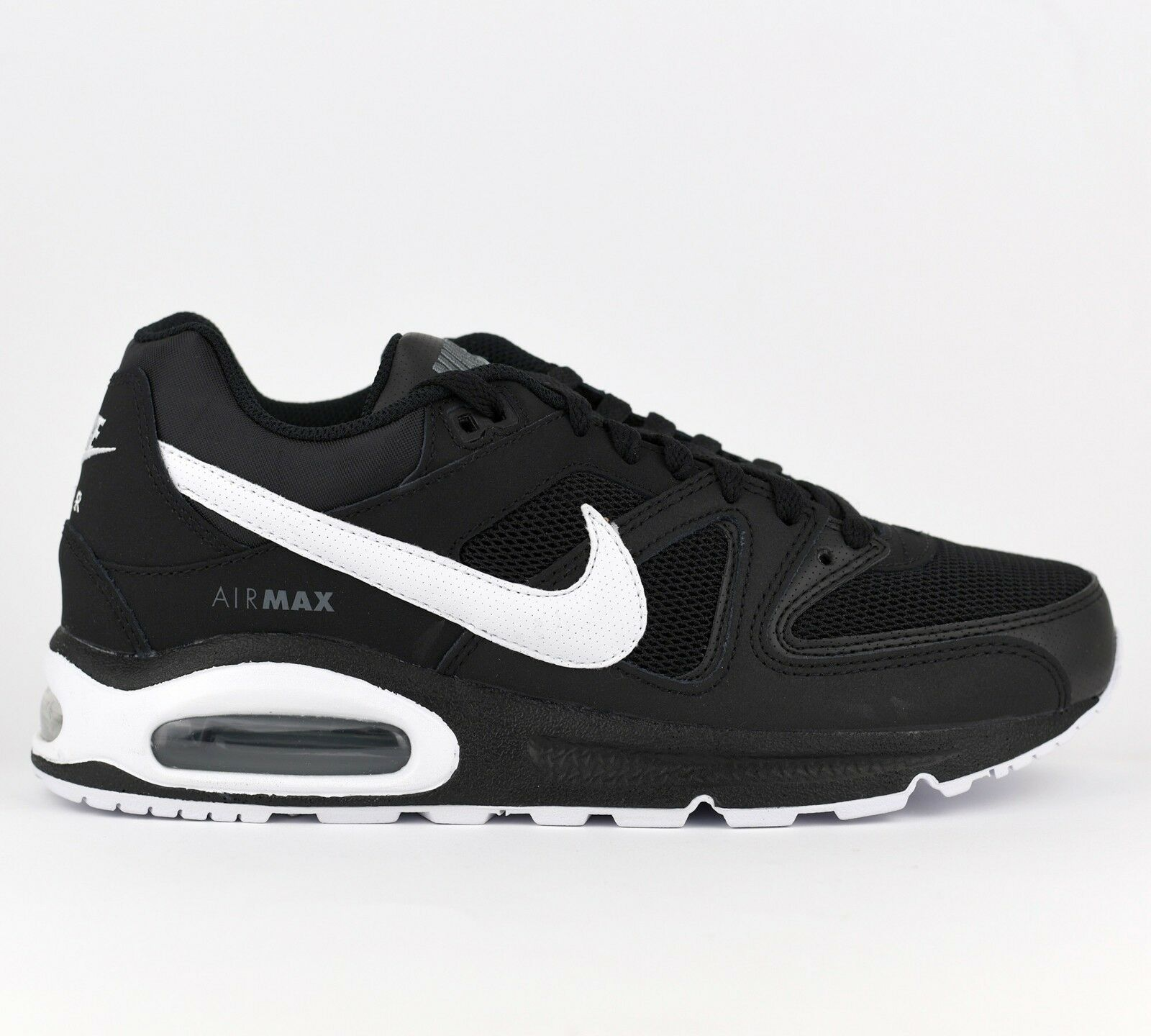 Nike Air Max Command Men Lifestyle Sneakers shoes New Black White 629993-032