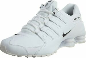 New-Nike-Shox-NZ-EU-Men-Size-10-5-Athletic-Running-Shoes-White-Black-501524-106