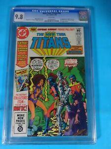 CGC-Comic-graded-9-8-NM-MT-marvel-New-Teen-Titans-16-1st-Cpt-carrot-zoo-crew