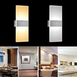 LED Wandleuchte Wandlampe Strahler Flutlicht Fluter Schlafzimmer ...