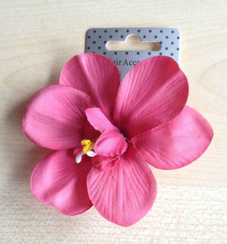 weddings,party,special events  women/'s girls Fabric flower on a 5cm fork clip