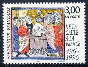 Stamp / Timbre France Neuf N° 3024 ** De La Gaule A La France / Clovis Rendre Les Choses Commodes Pour Le Peuple